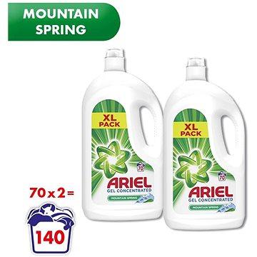 ARIEL Mountain Spring 2× 3,85 l (140 praní) (258001090790828)
