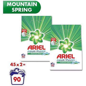 ARIEL Mountain Spring 2× 3,3 kg (90 praní) (258001841682105)