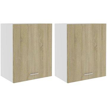 Kuchyňské skříňky 2 ks dub sonoma 50 x 31 x 60 cm dřevotříska 805081