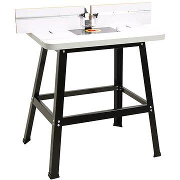 Pracovní stůl pro horní frézku ocel a MDF 81 x 61 x 88 cm 147836