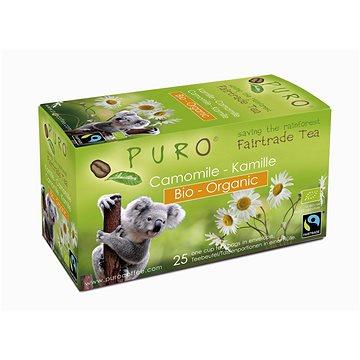 Puro Fairtrade BIO čaj porcovaný heřmánkový 25x1g (550198)