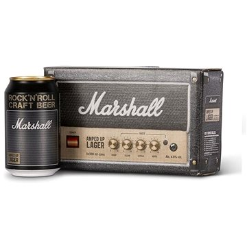 Marshall Amped Up Lager 3 ×0,33l 4,6% (5034743202303)