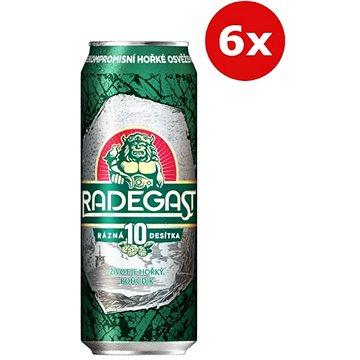 Radegast 10° 6×0,5l 4,1% plech (8594404012711)