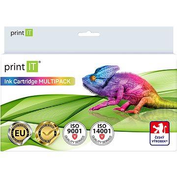 PRINT IT Multipack XL-PGI 525PGBk + CLI-526C/M/Y/Bk pro tiskárny Canon (PI-525526)