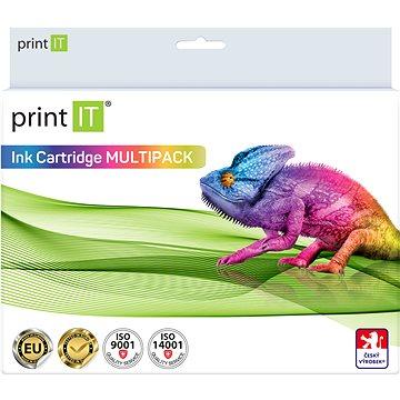 PRINT IT Multipack PGI-550XL + CLI-551XL 2xBk/PBK/C/M/Y pro tiskárny Canon (PI-1015)