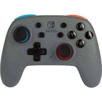 PowerA Nano Enhanced Wireless Controller - Red and Blue - Nintendo Switch (617885023903)