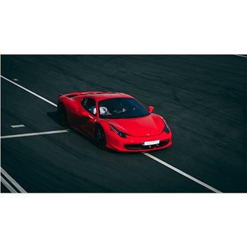 Jízda ve Ferrari 458 Italia na okruhu (polygonu) v Hradci Králové