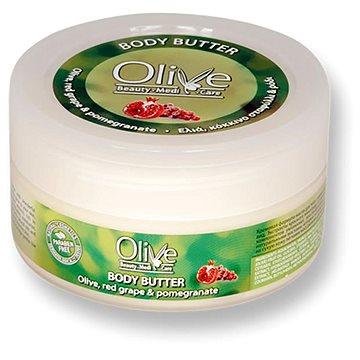 Olivové tělové máslo s červenými hrozny a granátovým jablkem