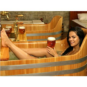 Pivní lázně Bernard - Pivní procedura pro 2 osoby v 1 vaně