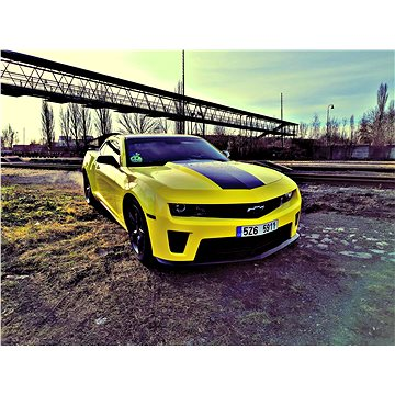 Superjízda v Chevroletu Camaro Bumblebee na 20 minut včetně paliva (RADOST000022U)