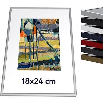 THALU Kovový rám 18x24 cm Stříbrná matná (3270029)