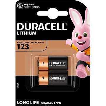 Duracell Ultra CR123A 2 ks (81476834)