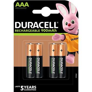 Duracell Rechargeable AAA 900mAh - 4 ks (81510031)