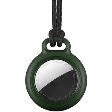 RhinoTech uzamykatelné pouzdro s poutkem pro Apple AirTag tmavě zelená (RTACC100)