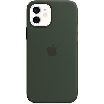 Apple iPhone 12 Mini Silikonový kryt s MagSafe kypersky zelený (MHKR3ZM/A)