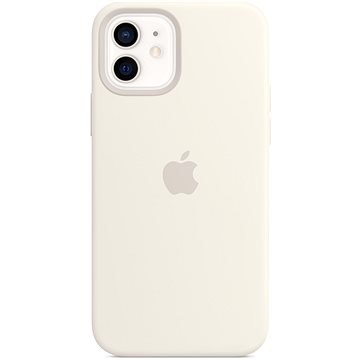 Apple iPhone 12 Mini Silikonový kryt s MagSafe bílý (MHKV3ZM/A)