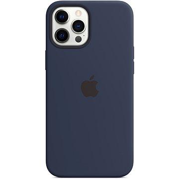 Apple iPhone 12 Pro Max Silikonový kryt s MagSafe námořnicky tmavomodrý (MHLD3ZM/A)