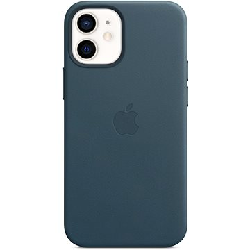 Apple iPhone 12 Mini Kožený kryt s MagSafe baltsky modrý (MHK83ZM/A)