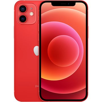 iPhone 12 64GB červená (mgj73cn/a)