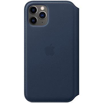 Apple iPhone 11 Pro kožené pouzdro Folio hlubinně modré (MY1L2ZM/A)