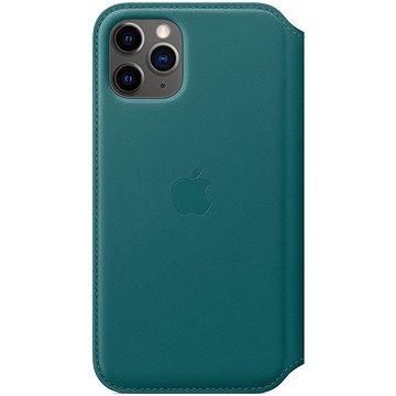 Apple iPhone 11 Pro kožené pouzdro Folio ledňáčkově tyrkysové (MY1M2ZM/A)