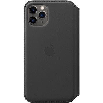 Apple iPhone 11 Pro Kožené pouzdro Folio černé (MX062ZM/A)