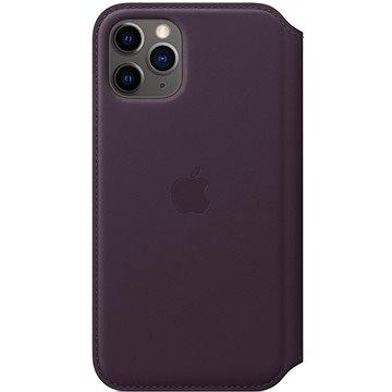 Apple iPhone 11 Pro Kožené pouzdro Folio lilkové (MX072ZM/A)