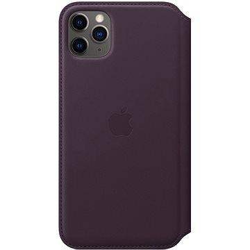 Apple iPhone 11 Pro Max Kožené pouzdro Folio lilkové (MX092ZM/A)