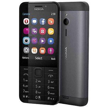Nokia 230 černá Dual SIM (A00026952)