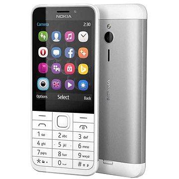 Nokia 230 bílá Dual SIM (A00026951)