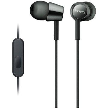Sony MDR-EX155AP, černá (MDREX155APB.AE)