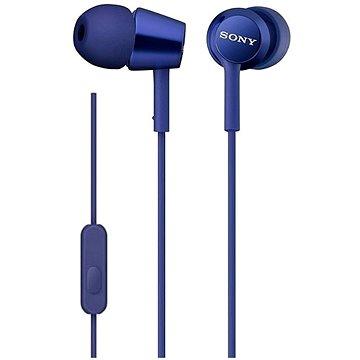 Sony MDR-EX155AP, modrá (MDREX155APLI.AE)