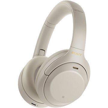 Sony Hi-Res WH-1000XM4, stříbrno-šedá, model 2020 (WH1000XM4S.CE7)