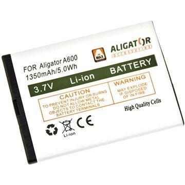 ALIGATOR A600 / A610 / A620 / A430 / A670 / A680 / VS900, Li-Ion (A600BAL)