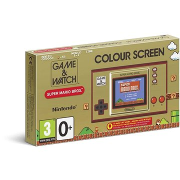 Retro konzole Game and Watch: Super Mario Bros (045496444914)