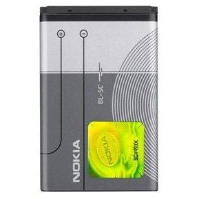 Nokia BL-5C Li-Ion 1020 mAh bulk (0278813 Bulk)