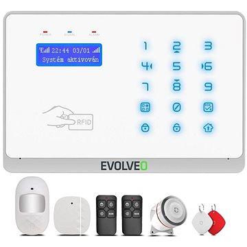 EVOLVEO Salvarix - bezdrátový WiFi a GSM alarm s čtečkou RFID (ALM303)