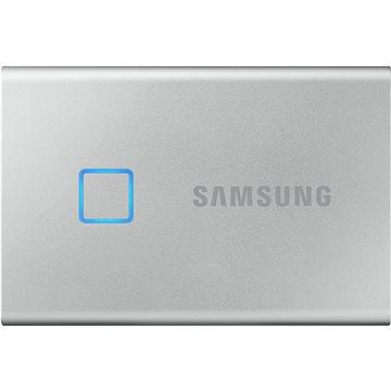 Samsung Portable SSD T7 Touch 1TB stříbrný (MU-PC1T0S/WW)