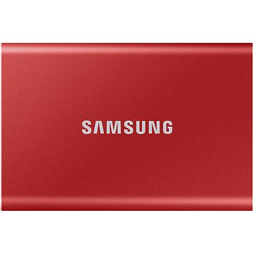 Samsung Portable SSD T7 500GB červený (MU-PC500R/WW)