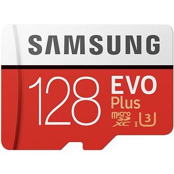 Samsung MicroSDXC 128GB EVO Plus + SD adaptér (MB-MC128HA/EU)