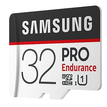 Samsung MicroSDHC 32GB PRO Endurance + SD adaptér (MB-MJ32GA/EU)