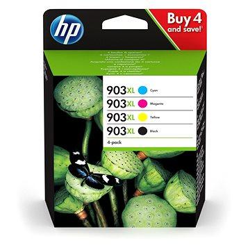 HP 3HZ51AE č. 903XL černá+azurová+purpurová+žlutá (3HZ51AE)