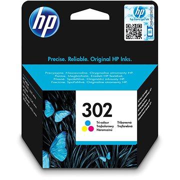 HP F6U65AE č. 302 barevná (F6U65AE)
