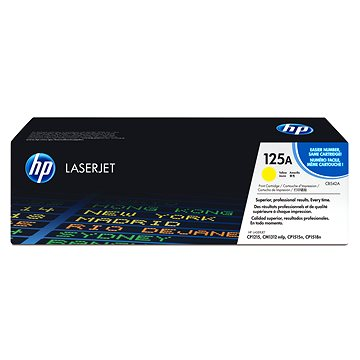 HP CB542A č. 125A žlutý (CB542A)