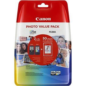 Canon PG-540XL + CL-541XL + fotopapír GP-501 Multipack (5222B013)