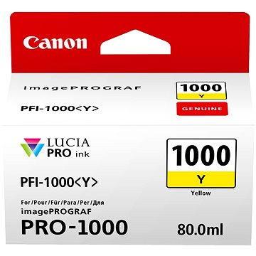Canon PFI-1000Y žlutá (0549C001)