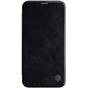 Nillkin Qin kožené pouzdro pro Apple iPhone 12 Pro Max Black (6902048201651)