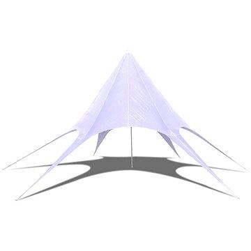 Hvězdicový šesticípý party stan / zahradní altán 10 m (40705)