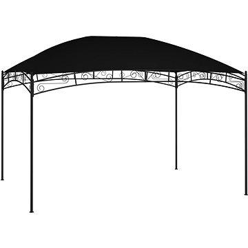 Zahradní altán 4 x 3 m antracitový 180 g/m2 (47833)