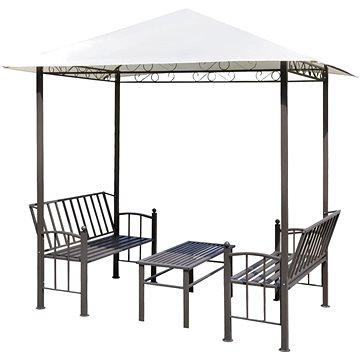 Zahradní altán se stolem a lavicemi 2,5x1,5x2,4 m (43218)